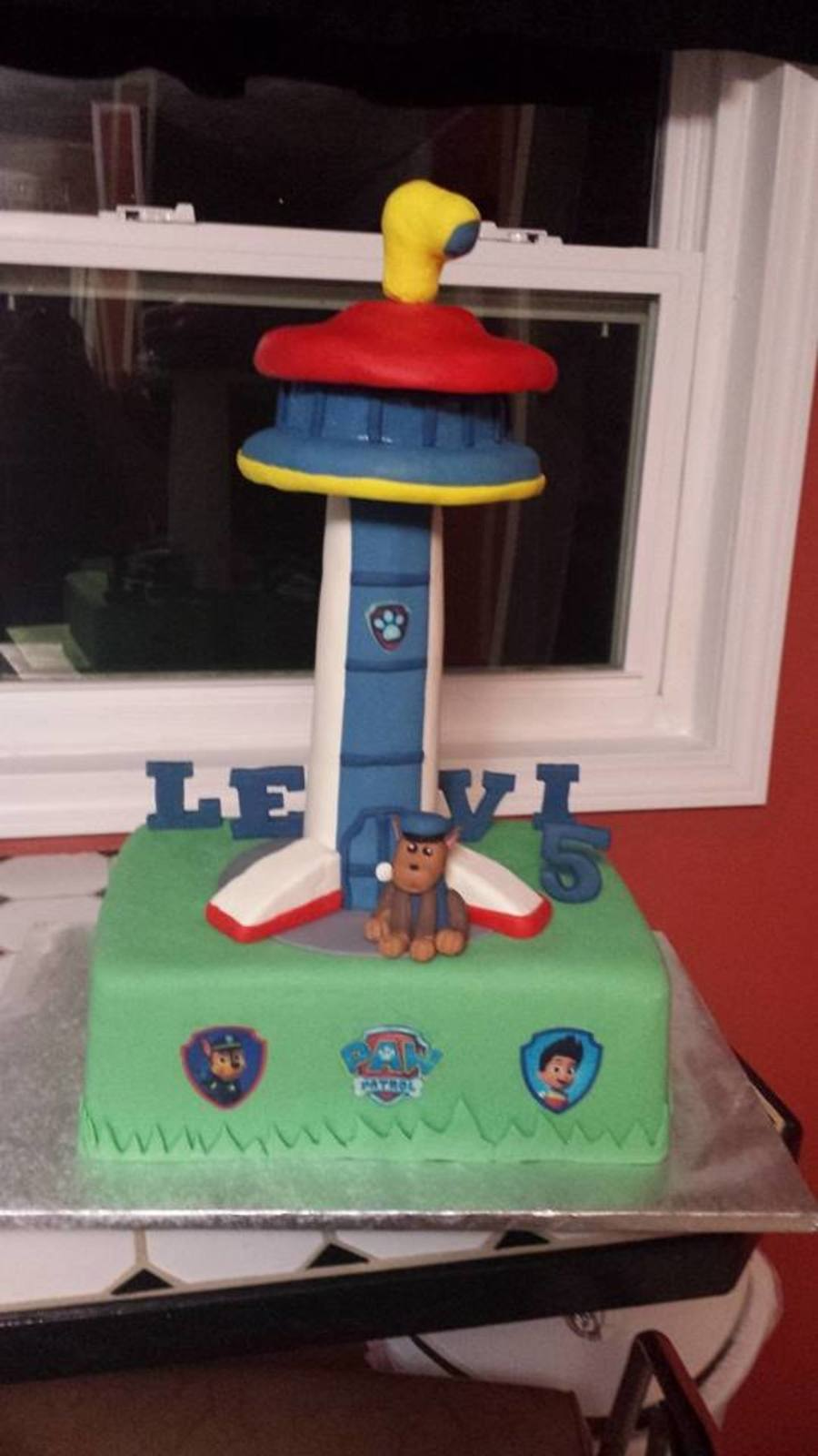 Square Paw Patrol St Birthday Cake