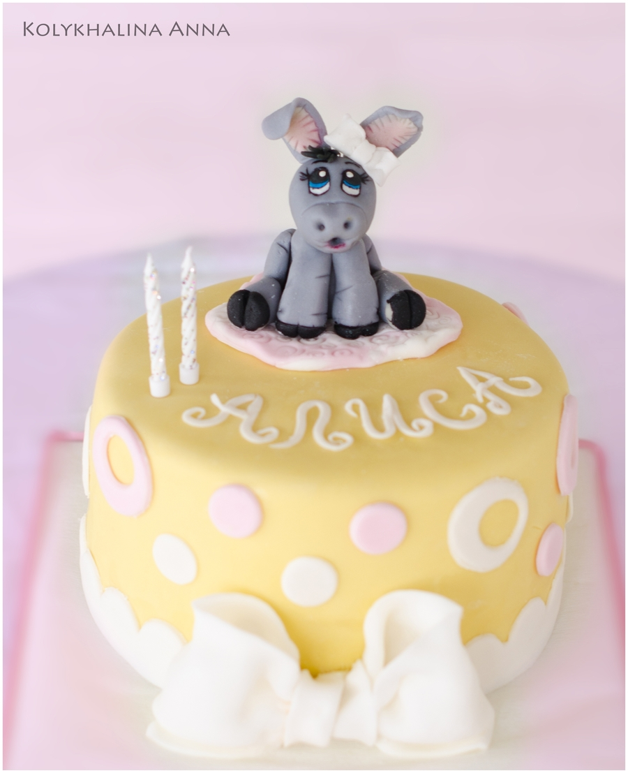 Little Donkey Girl on Cake Central