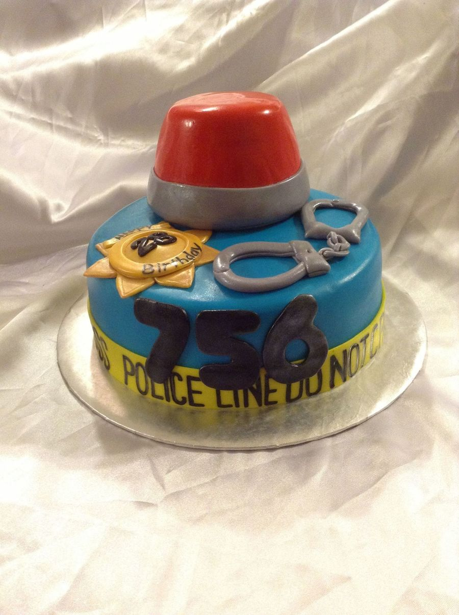 Marvelous Police Birthday Cake Recipe Funny Birthday Cards Online Alyptdamsfinfo