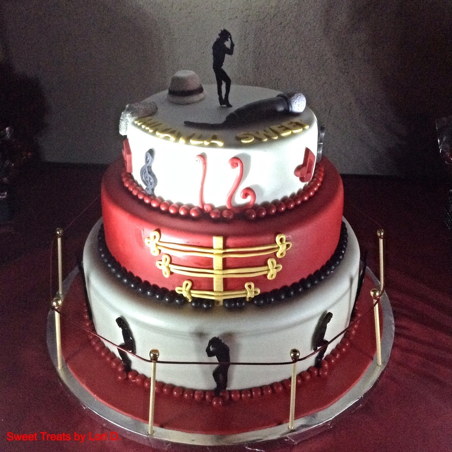 Sweet 16 Michael Jackson Cake Cakecentral Com