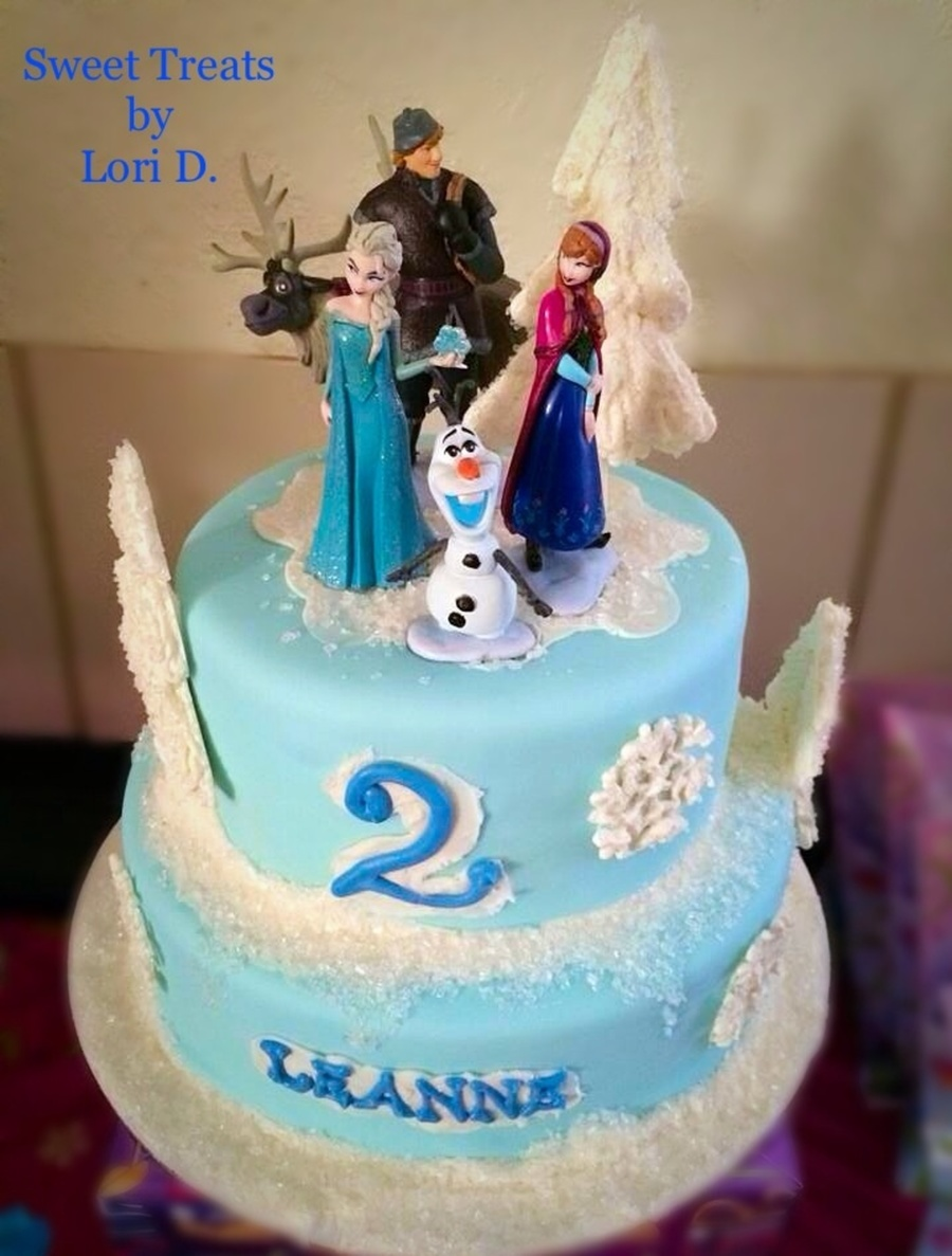 frozen 2Nd Birthday Cake CakeCentralcom
