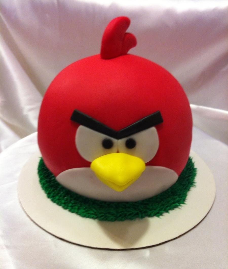 Angry Bird Cake Pops Recipe