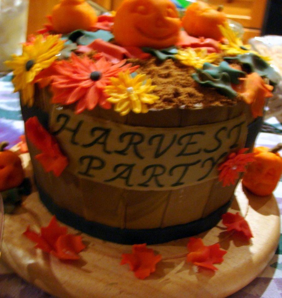 Harvest Basket - CakeCentral.com