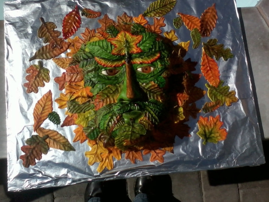 Green Man Cake  on Cake Central