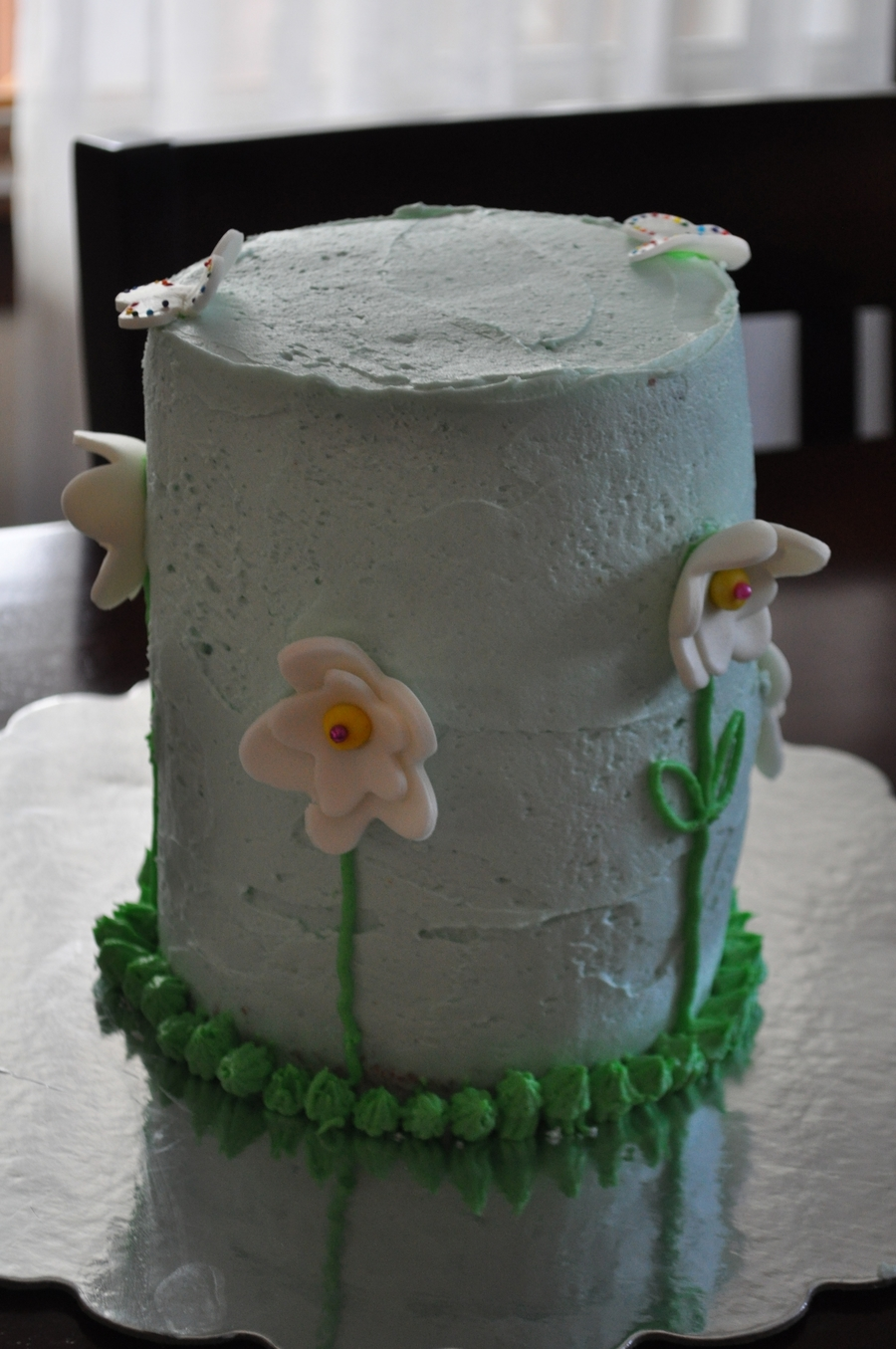 Tall Flowers on Cake Central