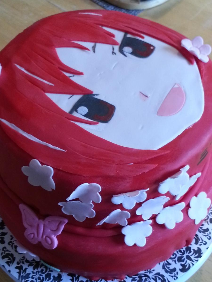 Sakura Cake Recipe
