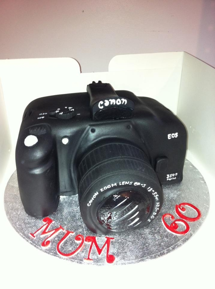 Camera on Cake Central