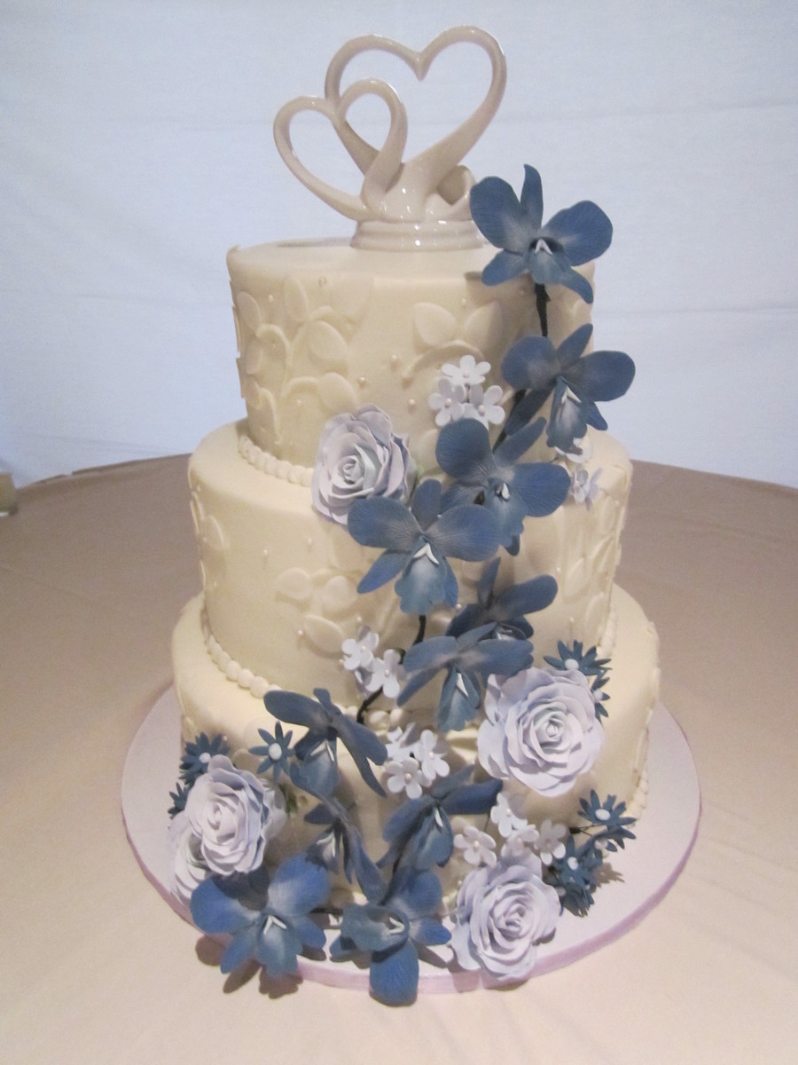 Orchids And Roses on Cake Central
