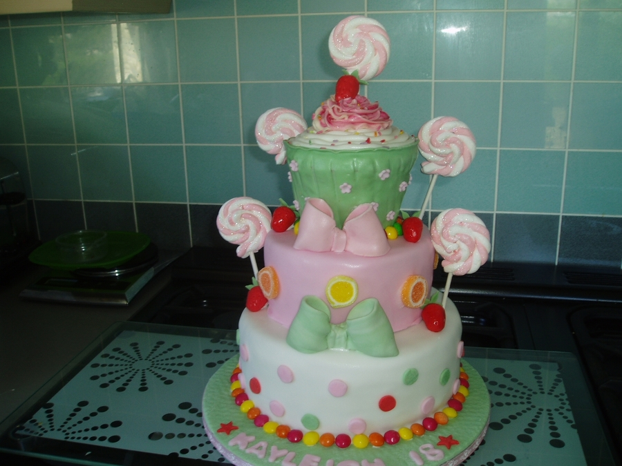 Another Candy Cake on Cake Central