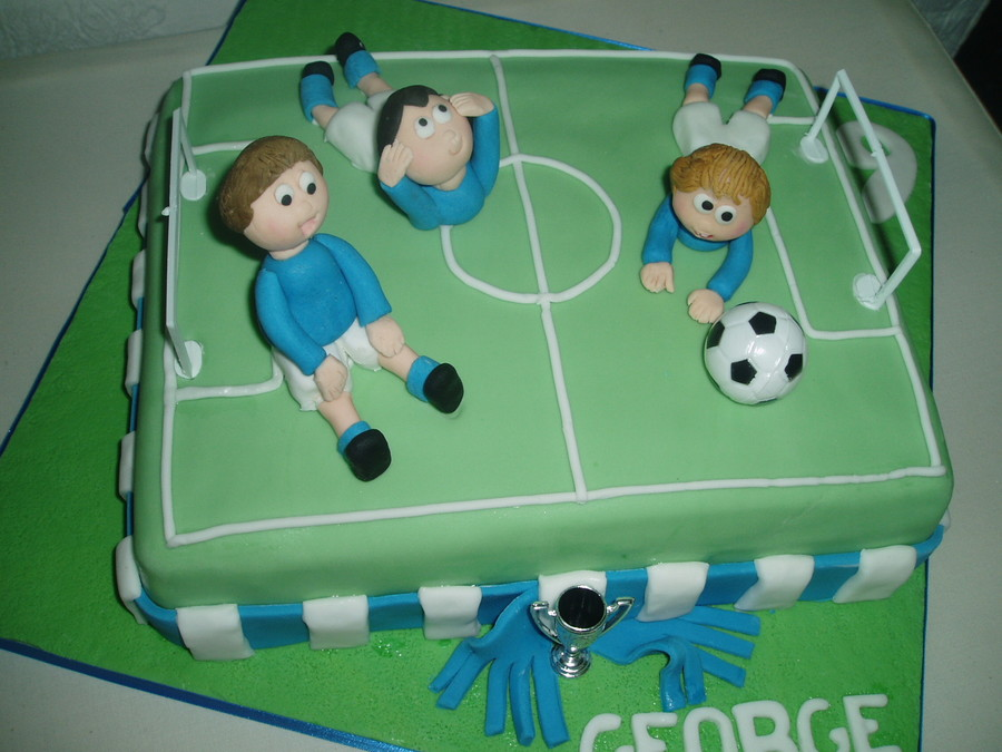 Football / Soccer on Cake Central