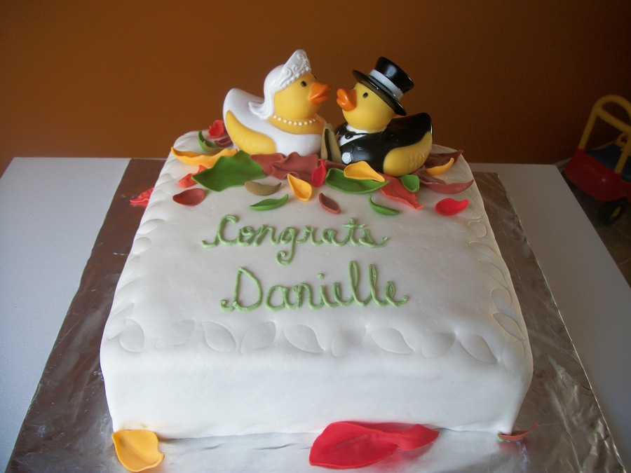 Bridal Shower Duckies on Cake Central