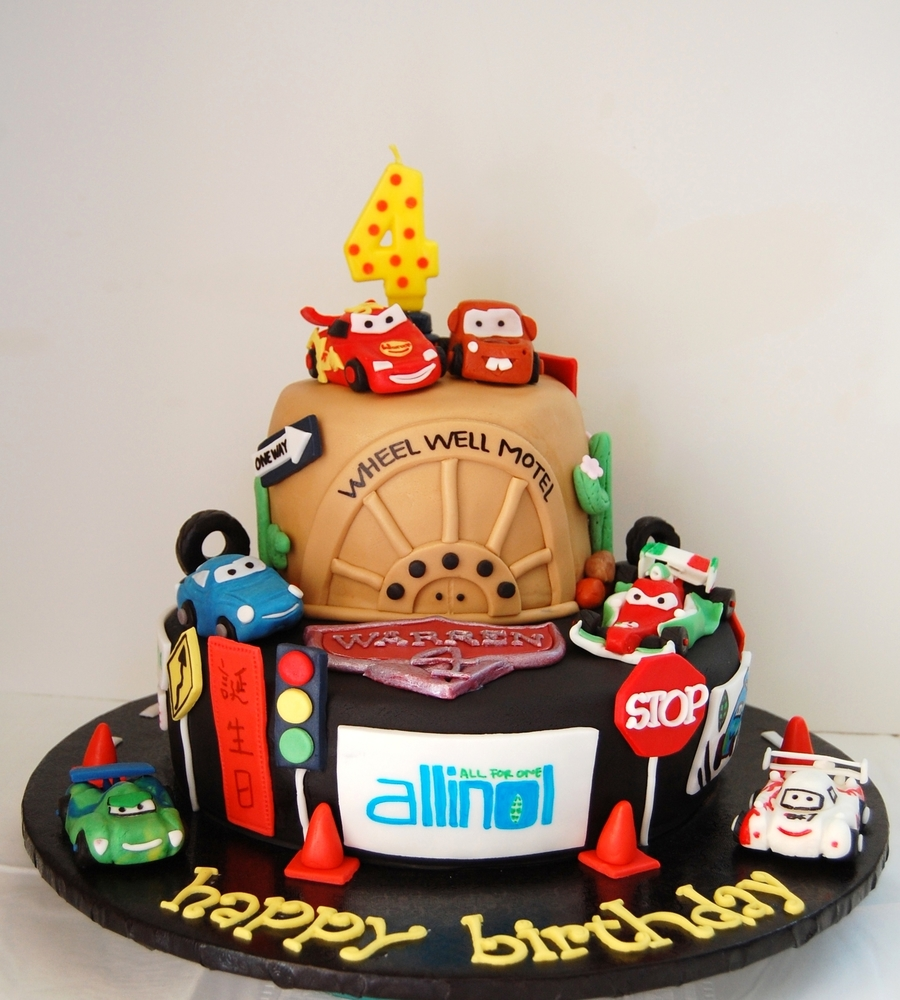 Cars  Birthday Cake CakeCentralcom - Birthday cake cars 2
