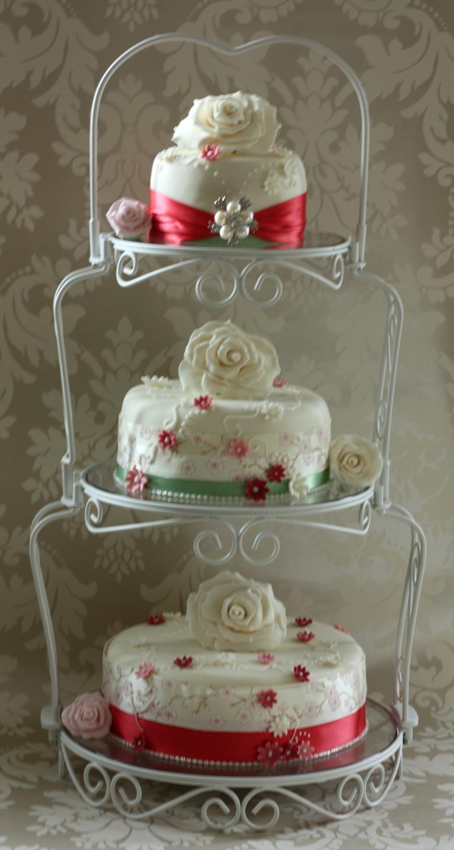 Vintage Style Wedding Cake On Graceful Tiers Stand Watermelon Wallpaper Rainbow Find Free HD for Desktop [freshlhys.tk]
