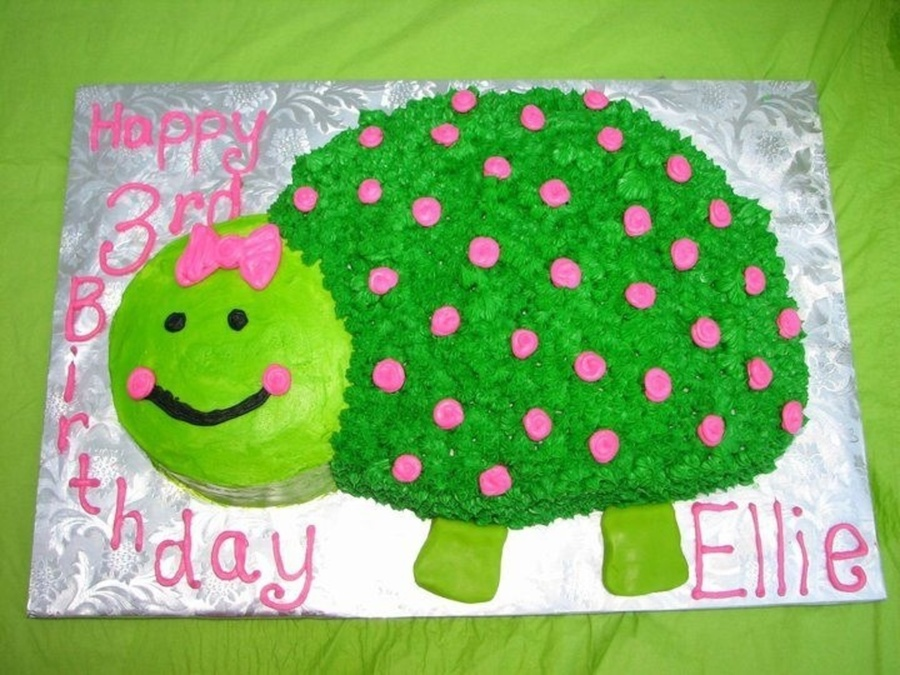 Turtle Designed From The Stephen Joseph Line  on Cake Central