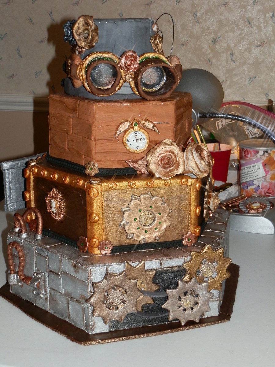 Steampunk Cake Cakecentral Com