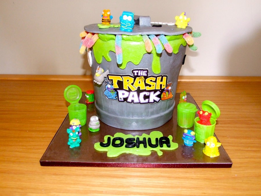 Trash Pack on Cake Central