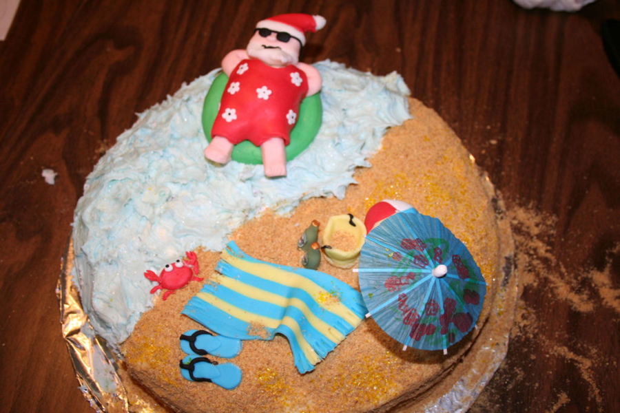 Christmas In July Food Ideas.Christmas In July Cake Cakecentral Com