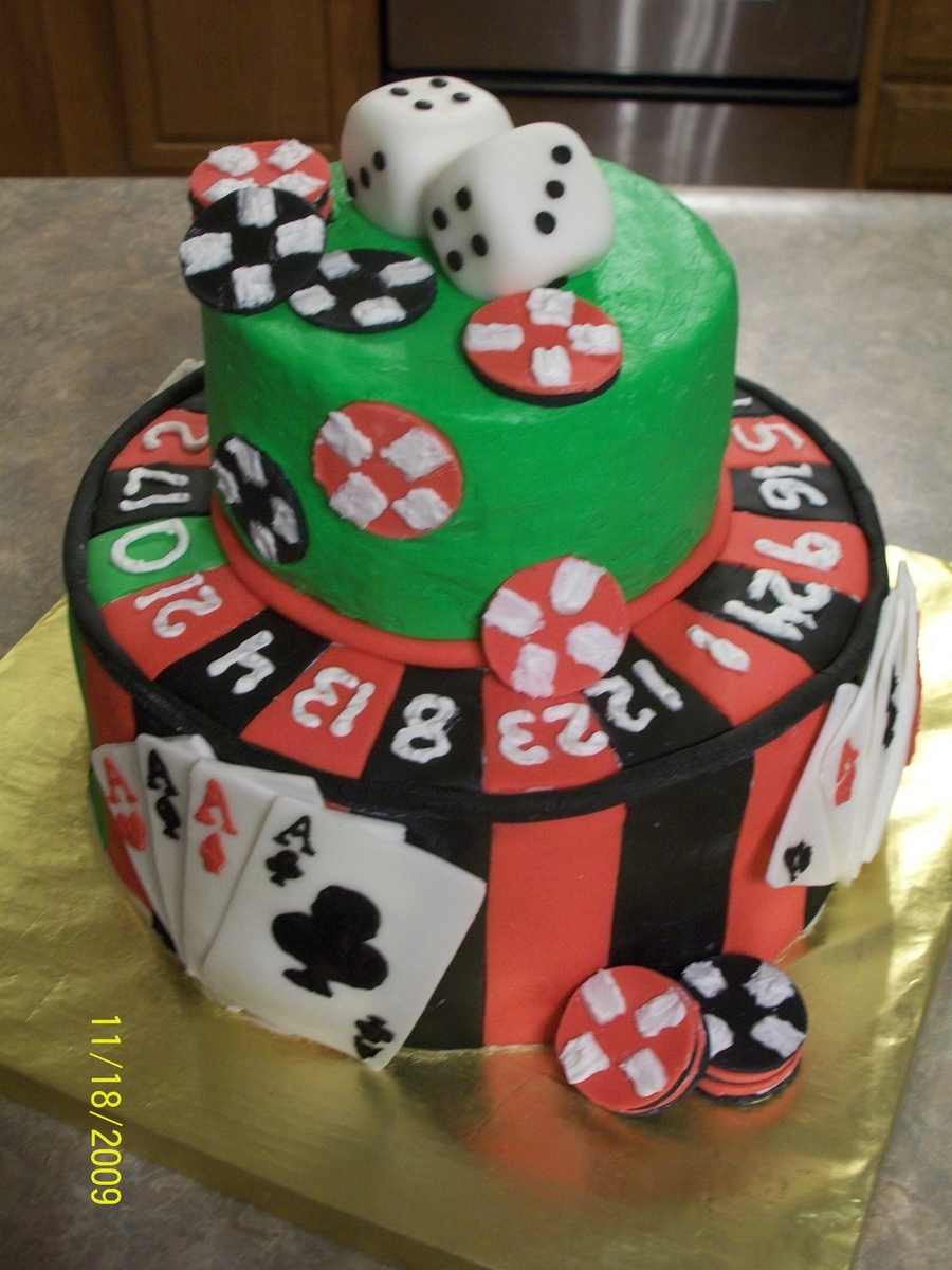 Casino  on Cake Central