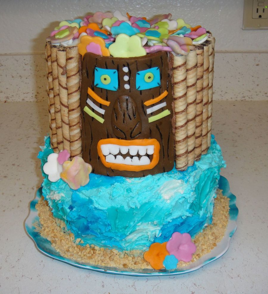 Going To Hawaii on Cake Central