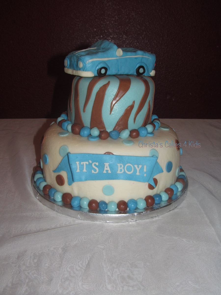 Classic Car Baby Shower on Cake Central