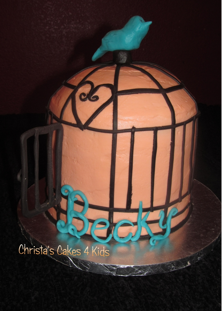 I'm Free! No More Cages. on Cake Central