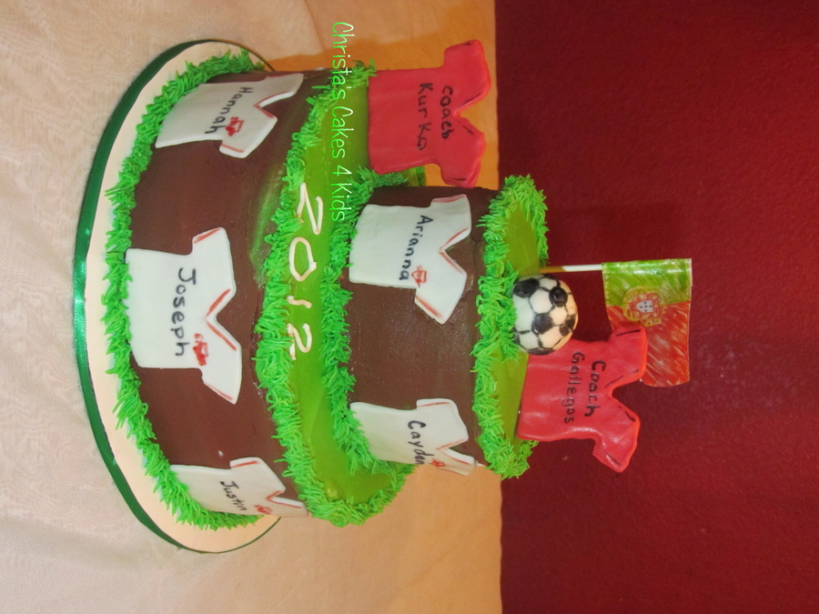 End Of Season Soccer Party on Cake Central