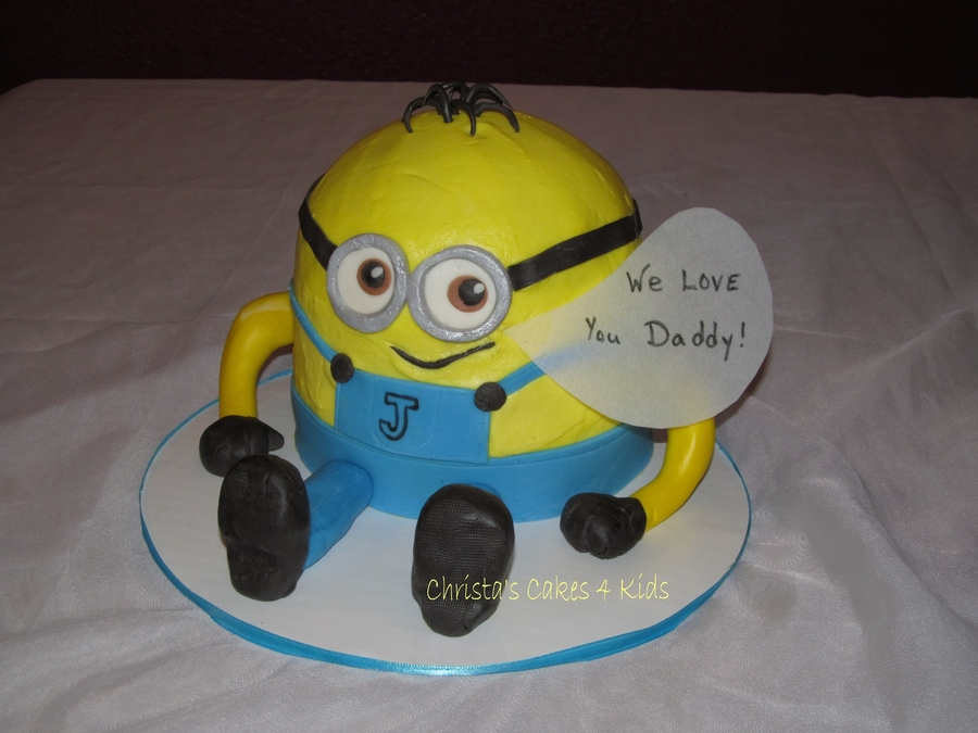 From All The Little Minions on Cake Central