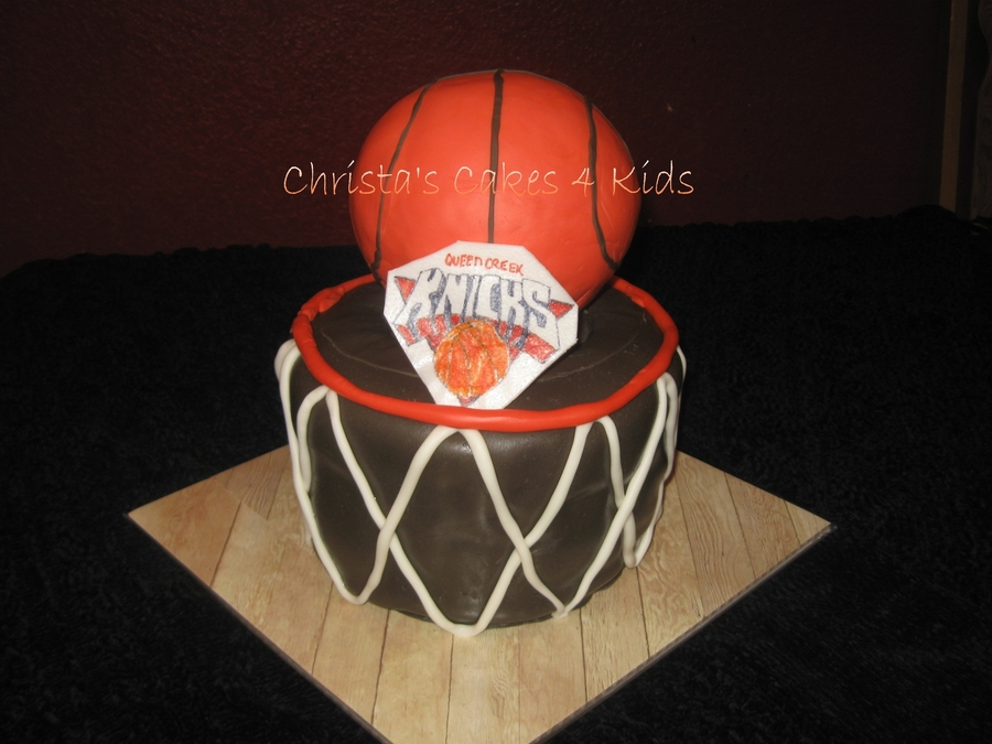 Shootin' Hoops on Cake Central