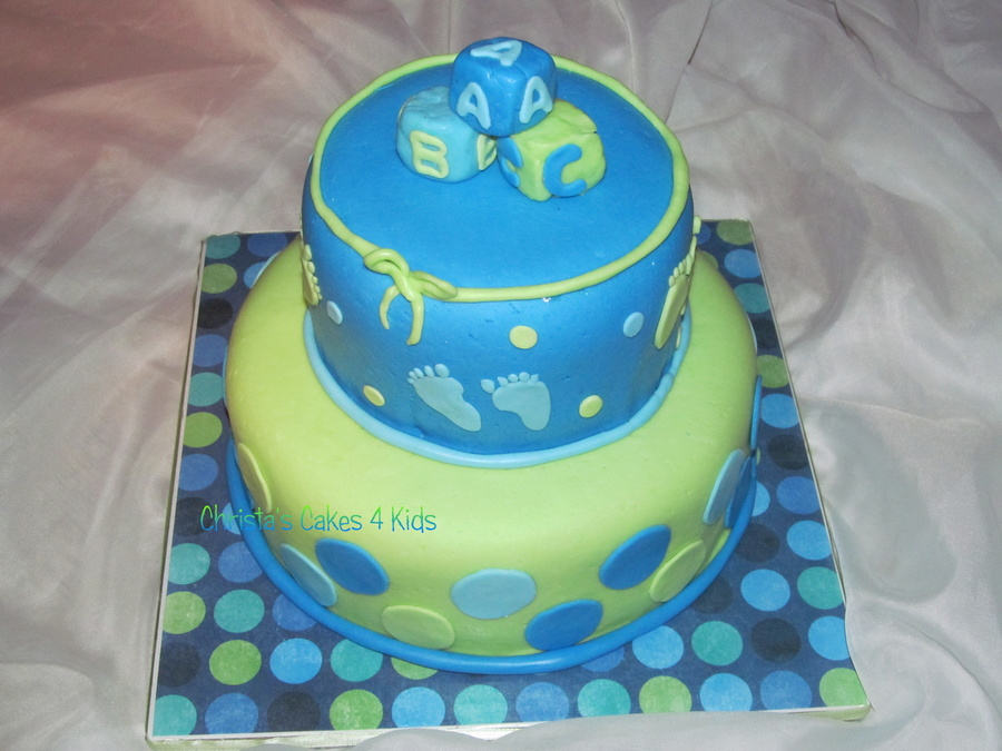 Baby Boy Fun on Cake Central