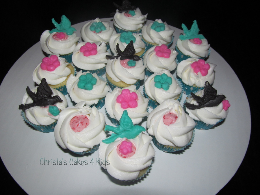 """purdy"" Birdies on Cake Central"