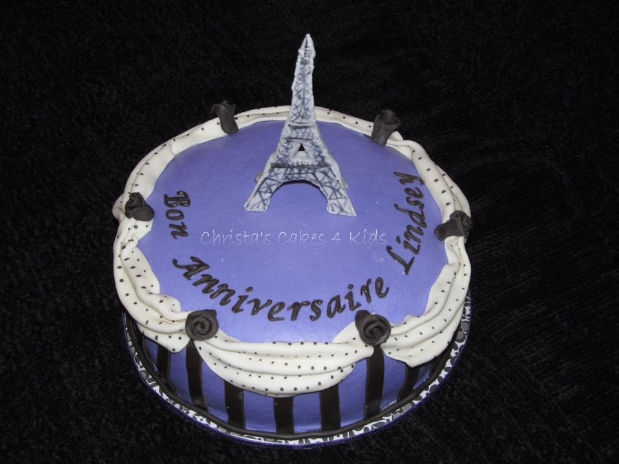 Paris Inspired Birthday Cakecentral