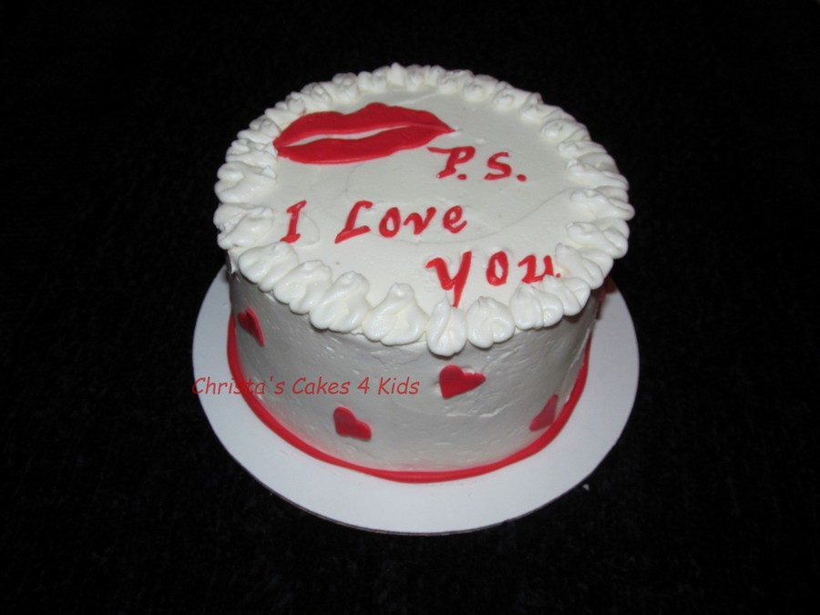 Valentine Kiss on Cake Central
