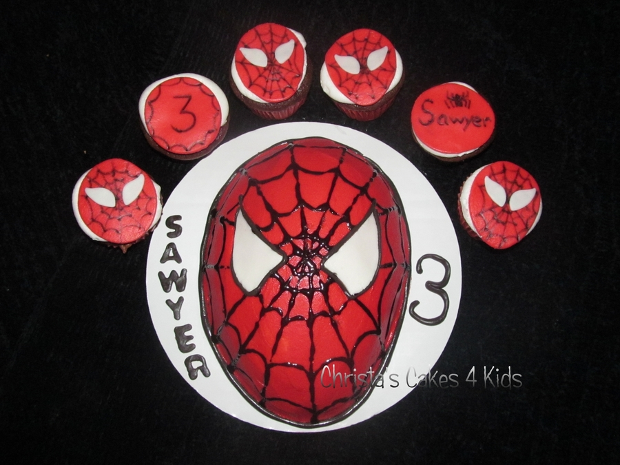 Spiderman For Sawyer on Cake Central