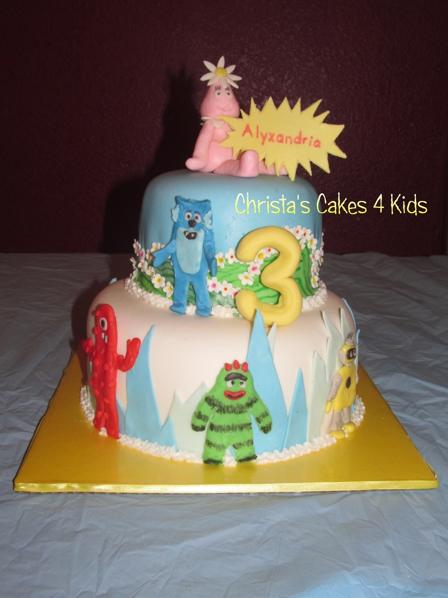 Yo Gabba Gabba Scenes on Cake Central