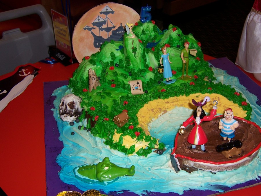 Neverland Peter Pan Captain Hook Cake Cakecentral Com