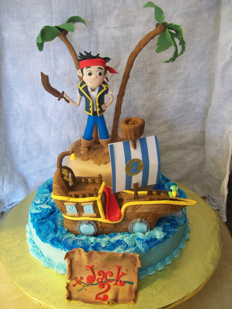 Pictures Of Jake And The Neverland Pirates Birthday Cakes