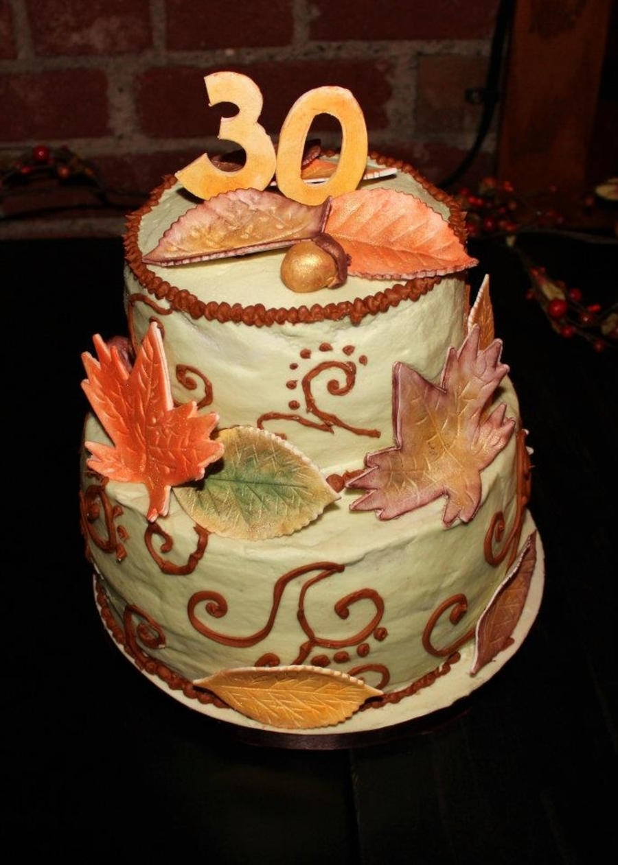 Fall Birthday on Cake Central