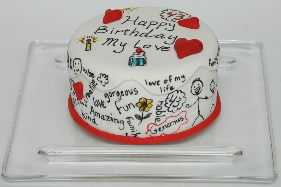 Happy Birthday My Love - CakeCentral.com