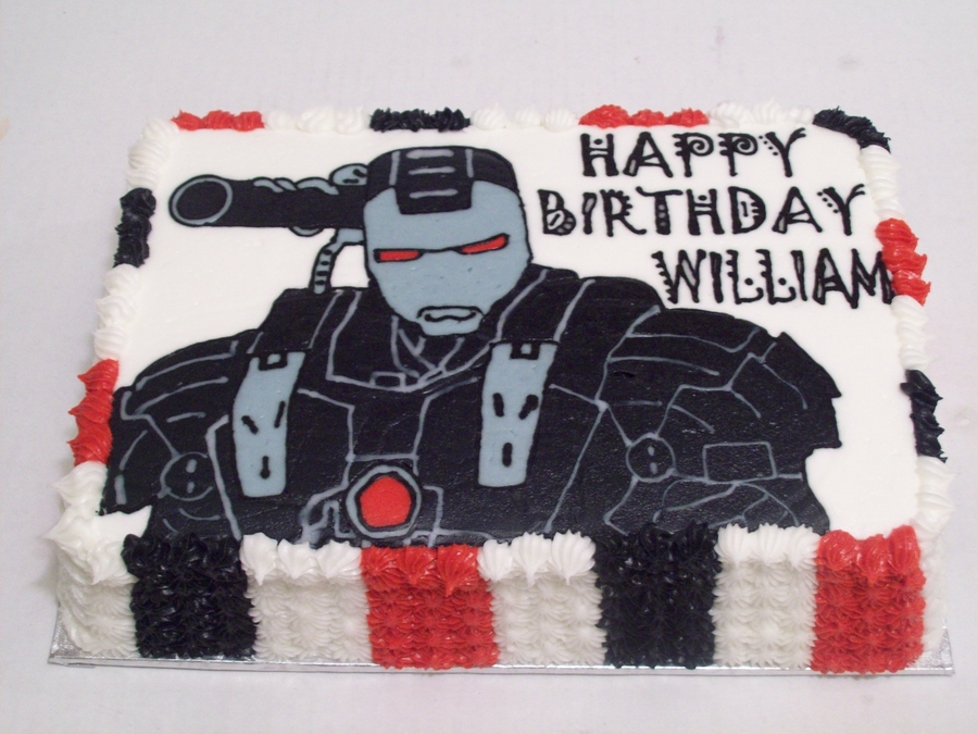 Black Ironman on Cake Central