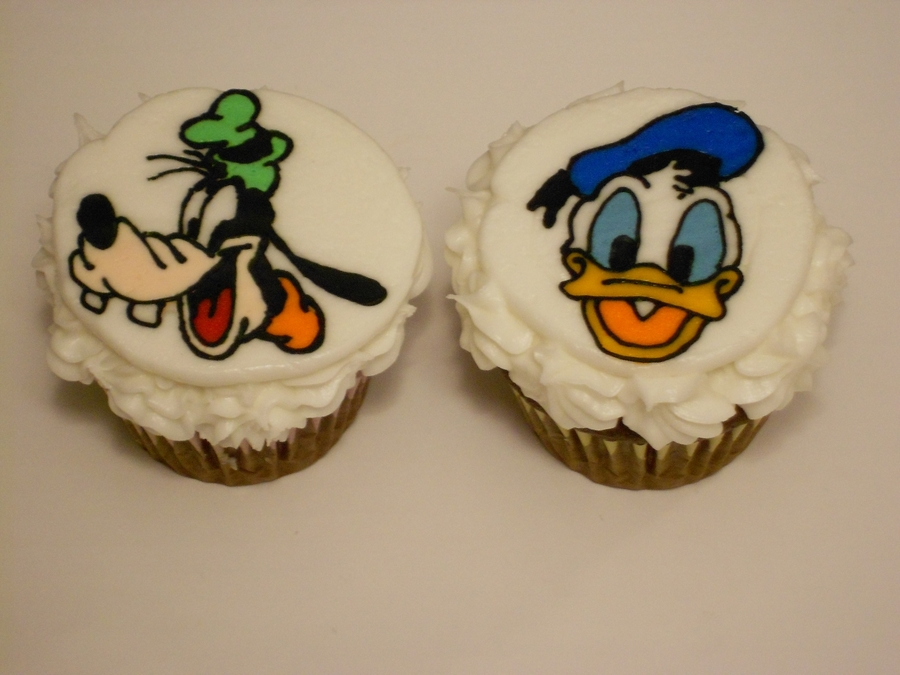 Goofy And Donald!! on Cake Central