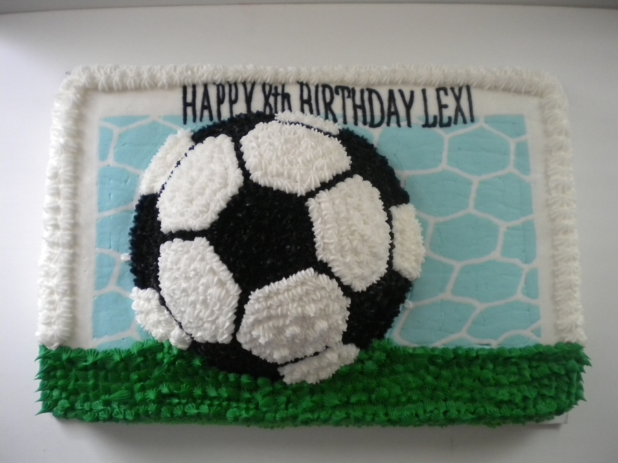 Soccer on Cake Central