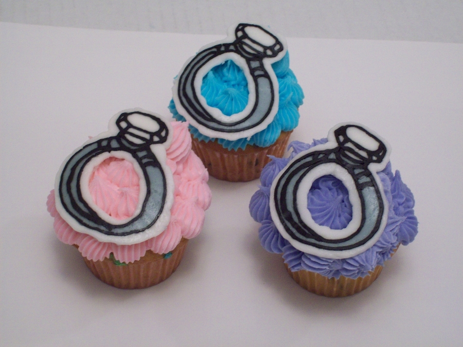 Engagement Ring Cupcakes on Cake Central