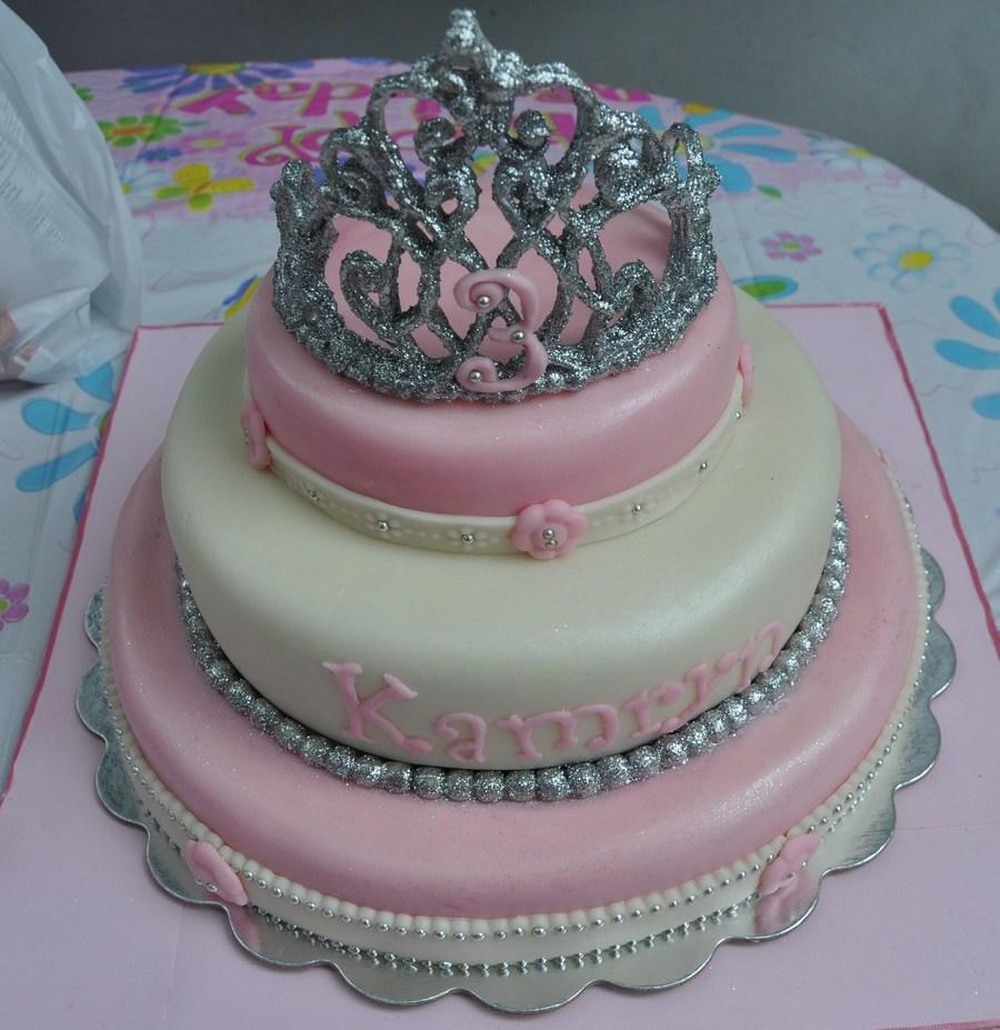 Pink Princess Tiara Cake Cakecentral