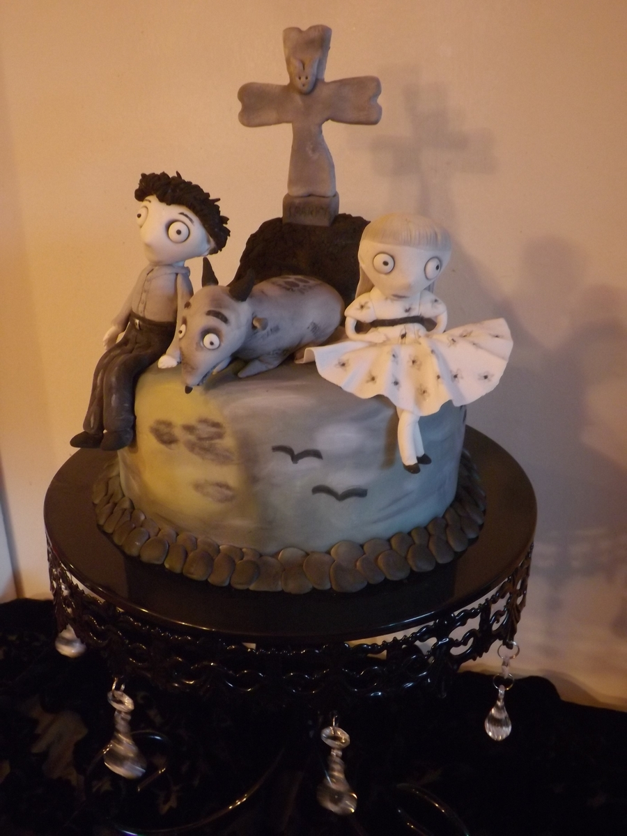 Frankenweenie Theme Cake  on Cake Central