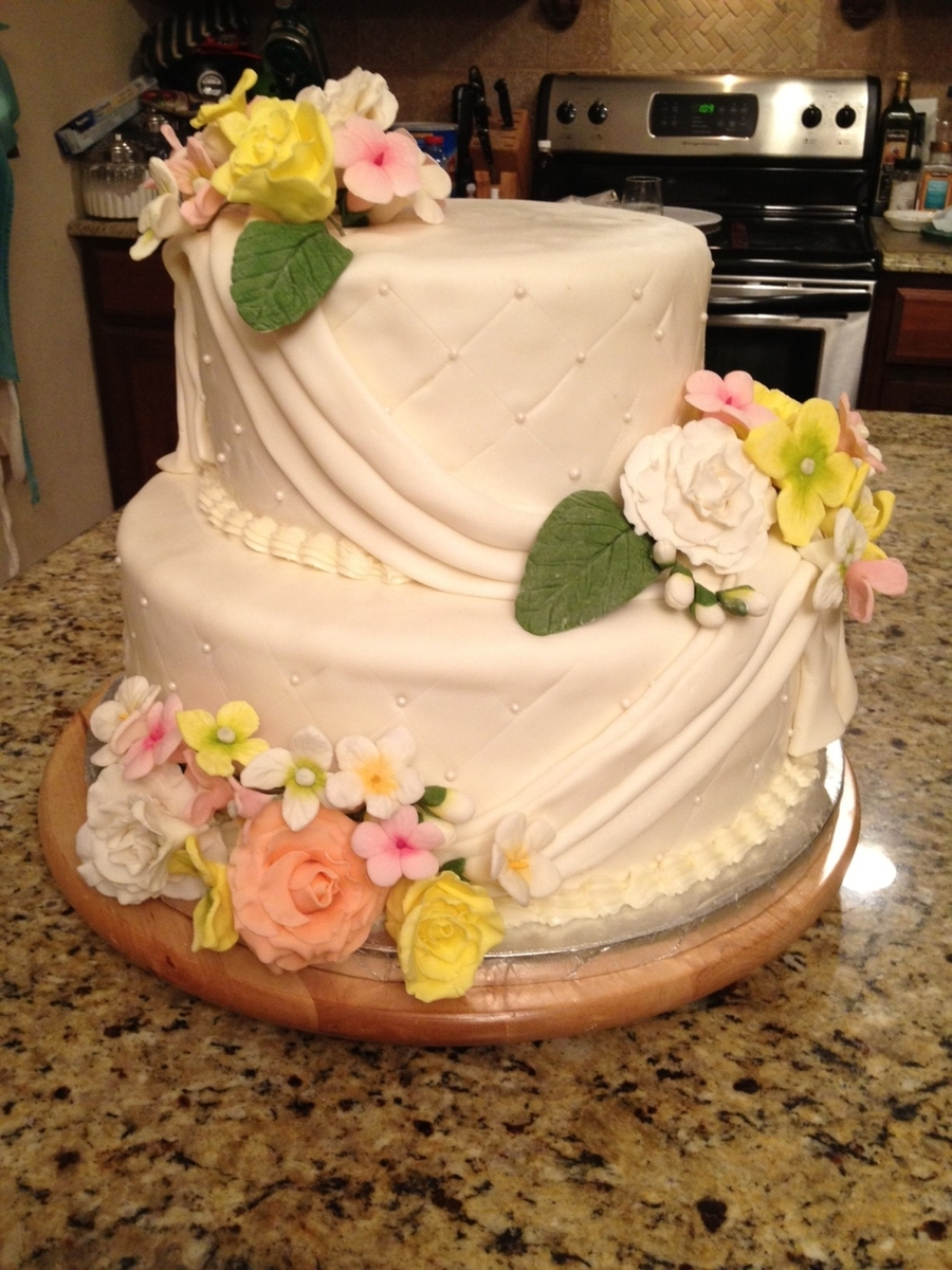 Spring Bridal Shower on Cake Central