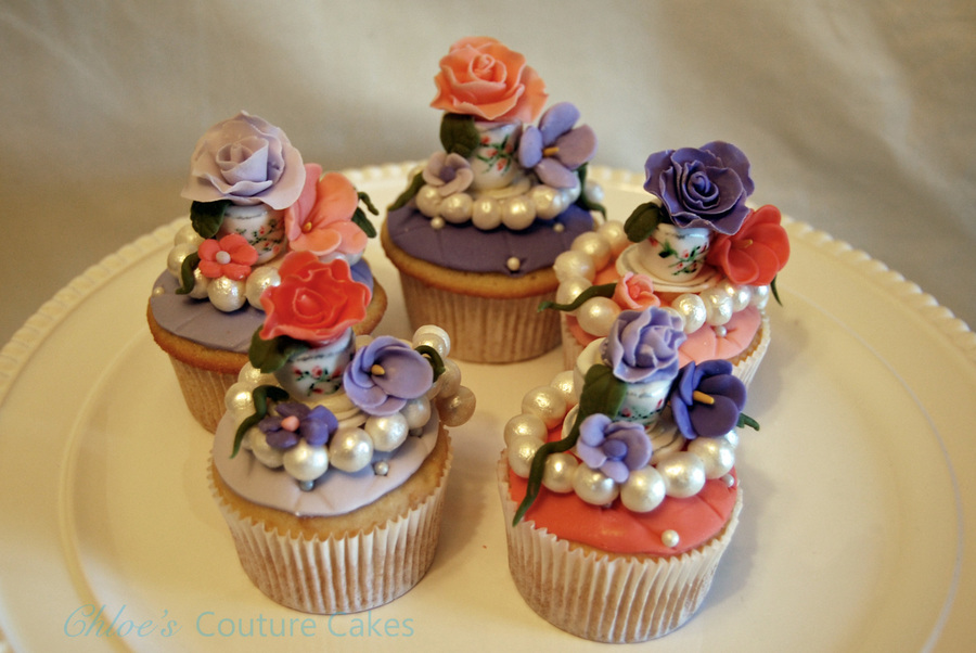 High Tea Cupcakes  on Cake Central
