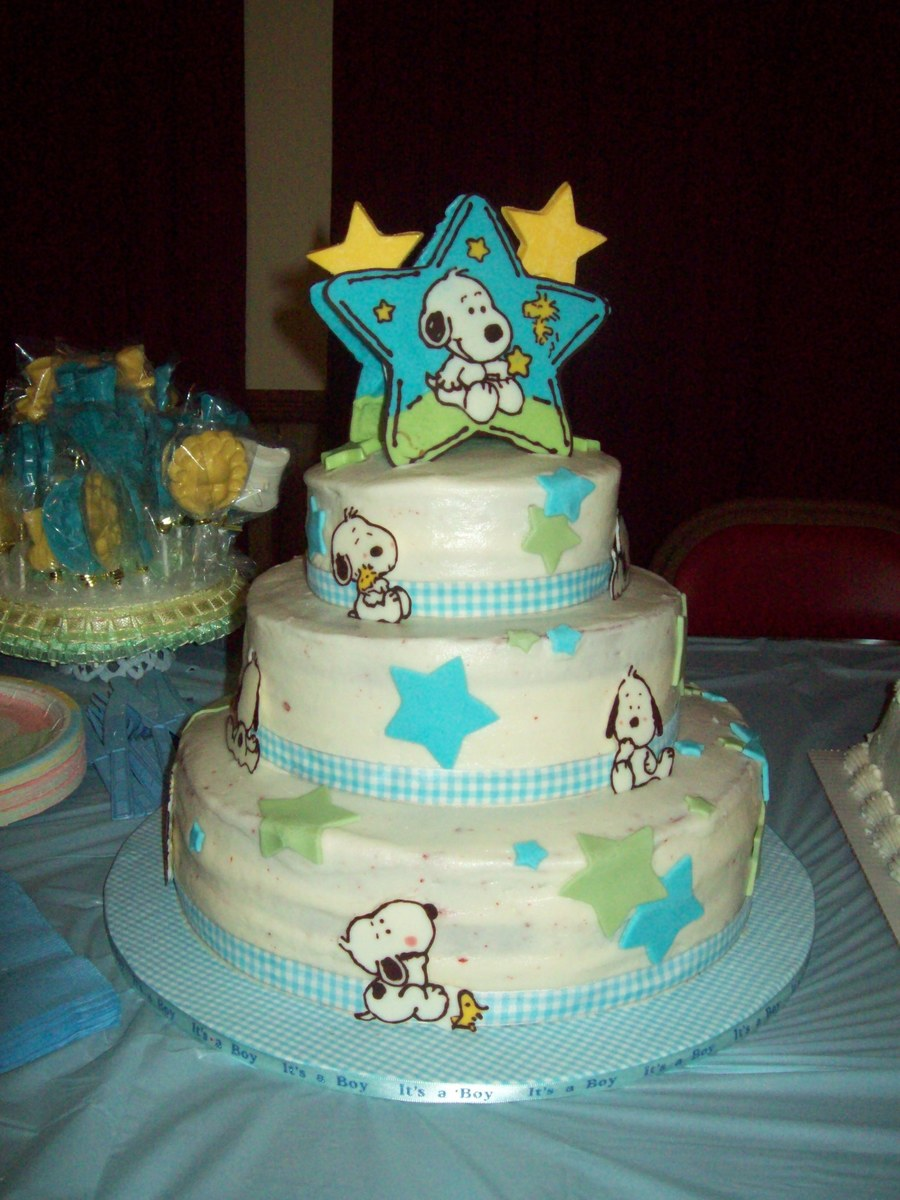Baby Snoopy Cake Topper