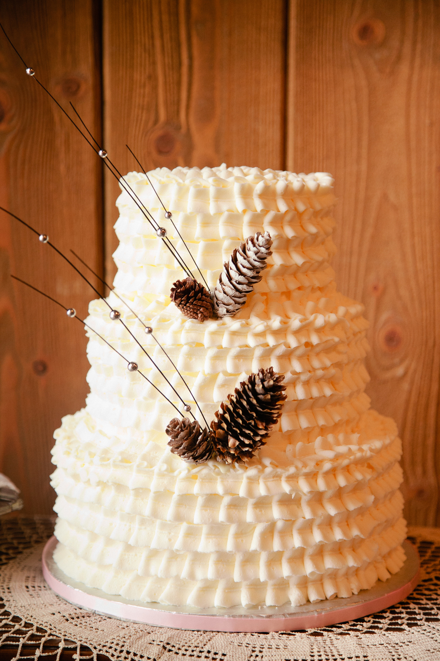 Winter Wedding  on Cake Central