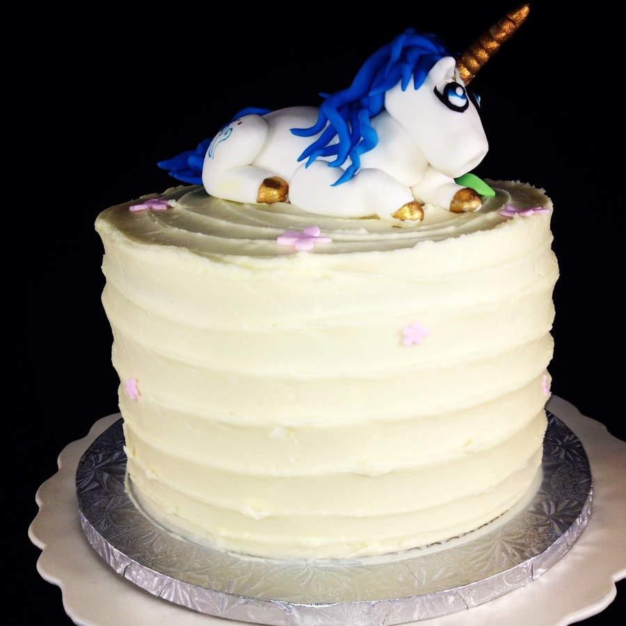 Rainbow Unicorn Cake on Cake Central