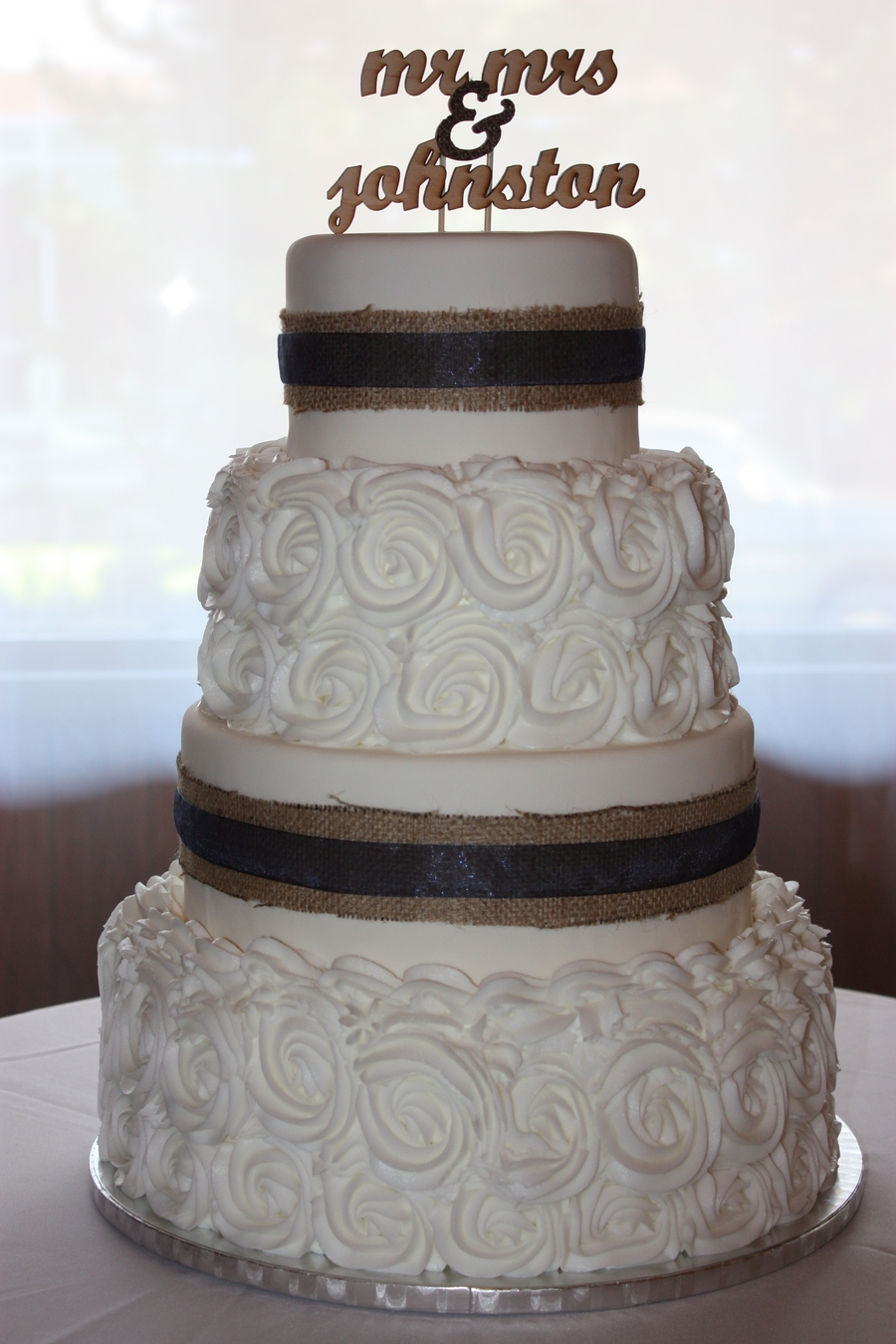 Rustic Elegance on Cake Central